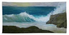 Crashing Wave 3 Beach Towel