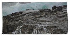 Crashing Wave Beach Towel