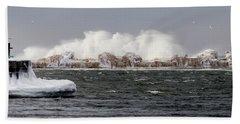 Crashing Waves Beach Sheet