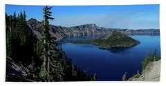 Crater Lake Beach Towel