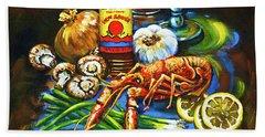 Crawfish Fixin's Beach Towel
