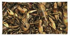 Crayfish Beach Towel by James Larkin