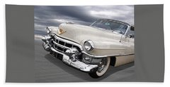 Cream Of The Crop - '53 Cadillac Beach Towel
