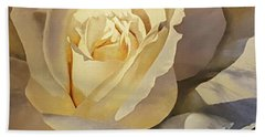 Creamy Rose Beach Towel