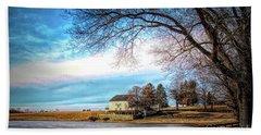 Crebilly Farm, West Chester, Pennsylvania Usa Beach Towel