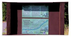 Creekside Trail Beach Towel
