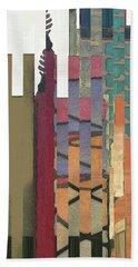 Crenellations Beach Towel
