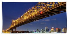 Crescent City Bridge, New Orleans, Version 2 Beach Sheet