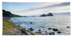 Crescent City Sunset Beach Towel