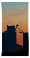 Crescent Moon At Laird 01 Beach Towel
