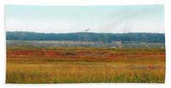 Crimson Marsh 2 Beach Sheet