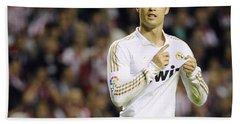 Cristiano Ronaldo 4 Beach Towel