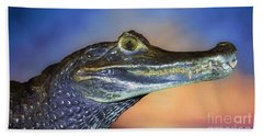 Crocodile Smile Beach Towel