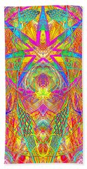 Cross 3 11 17 Beach Towel by Hidden Mountain