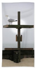 Cross At West Dennis Beach Beach Sheet