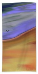 Crow On The Upflow Beach Towel