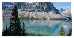 Crowfoot Mountain Beach Towel
