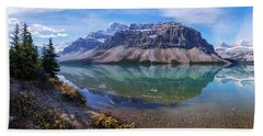 Crowfoot Reflection Beach Towel