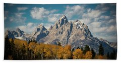 Crown For Tetons Beach Towel