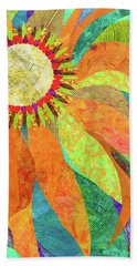 Crown Of Petals Beach Towel