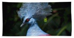Crowned Pigeon Beach Sheet