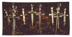 Crusaders Cemetery Beach Towel