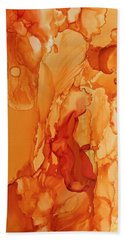 Orange Crush Beach Towel
