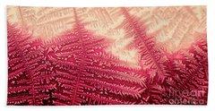 Crystal Of Ammonium Chloride Beach Towel