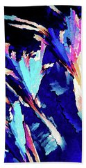 Crystal C Abstract Beach Towel