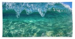 Crystal Clam Beach Towel