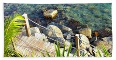 Crystal Clear Beach Sheet by Beth Saffer
