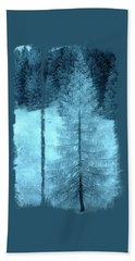 Crystal Larch Beach Towel by AugenWerk Susann Serfezi
