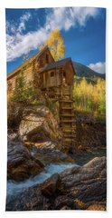 Crystal Mill Morning Beach Towel by Darren White