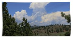 Crystal Peak Colorado Beach Towel by Jeanette French