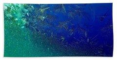 Crystal Sea Beach Towel by Danielle R T Haney