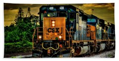 Csx 4226 Beach Towel by Marvin Spates