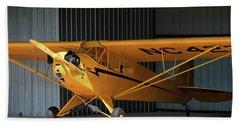 Cub Hangar 0 2017 Christopher Buff, Www.aviationbuff.com Beach Towel