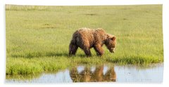 Cub Reflection Beach Towel