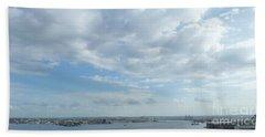 Cuba City And River View Beach Sheet