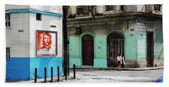 Cuban Icons Beach Sheet