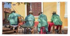 Cuban Music Beach Towel