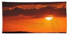 Cuban Sunset Beach Towel