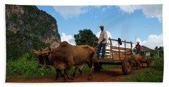 Cuban Worker II Beach Sheet