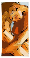 Cubism Series Ix Beach Towel