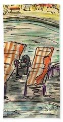 Lounge Chairs Beach Towel
