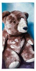 Cuddly Teddy...stuffed Animal Beach Towel