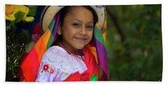 Cuenca Kids 865 Beach Towel by Al Bourassa