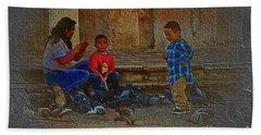 Cuenca Kids 875 Beach Towel by Al Bourassa