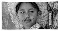 Cuenca Kids 883 Beach Towel by Al Bourassa