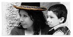 Cuenca Kids 912 Beach Sheet by Al Bourassa